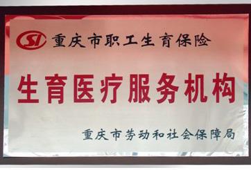 重庆市职工生育保险生育医疗服务机构